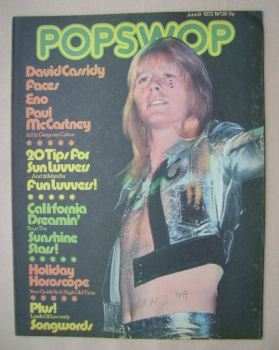 Popswop magazine - 9 June 1973