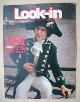 Look In magazine - Garry Miller cover (3 July 1971)