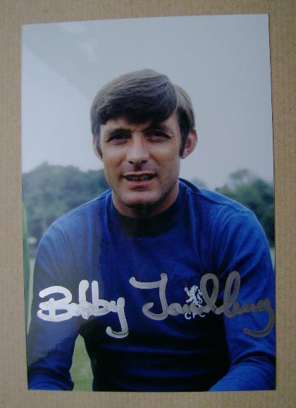 Bobby Tambling autograph