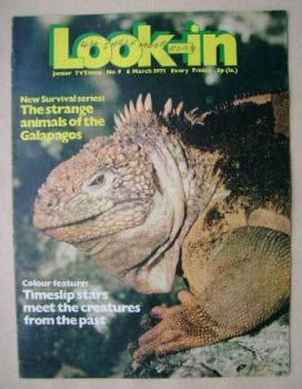 Look In magazine - 6 March 1971