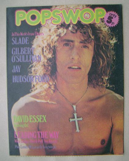 <!--1974-01-19-->Popswop magazine - 19 January 1974 - Roger Daltrey cover