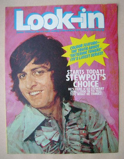 <!--1971-11-06-->Look In magazine - Ed Sewart cover (6 November 1971)