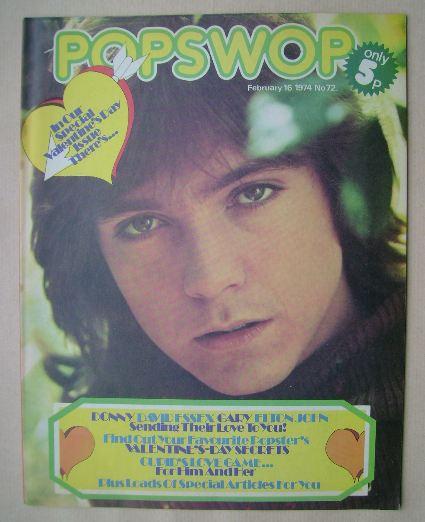 <!--1974-02-16-->Popswop magazine - 16 February 1974