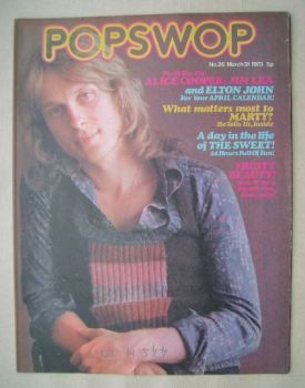 Popswop magazine - 31 March 1973