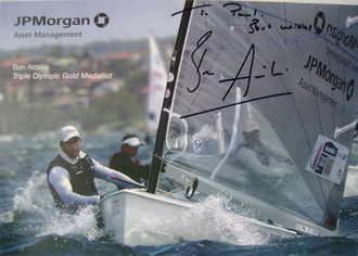 Ben Ainslie autograph