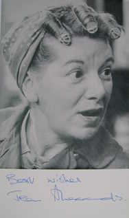 Jean Alexander autograph