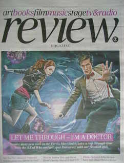 The Daily Telegraph Review newspaper supplement - 3 April 2010 - Matt Smith