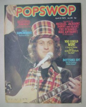 Popswop magazine - 21 April 1973