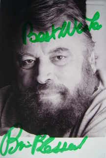 Brian Blessed autograph (hand-signed photograph)