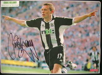 Craig Bellamy autograph