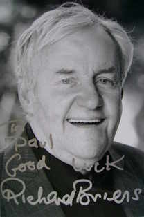 Richard Briers signed photo