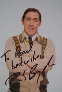 Rob Brydon autograph