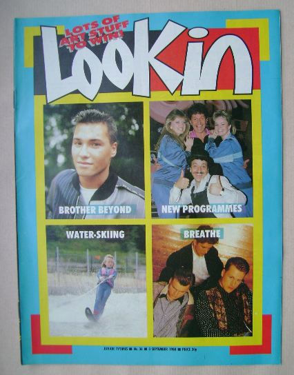 <!--1988-09-03-->Look In magazine - 3 September 1988