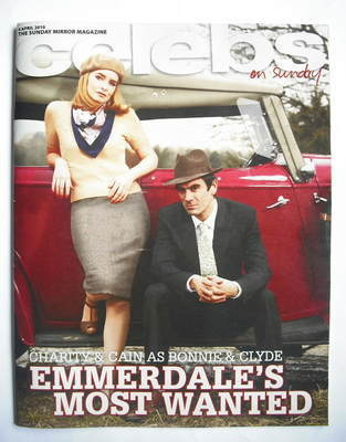 <!--2010-04-04-->Celebs magazine - Emma Atkins and Jeff Hordley cover (4 Ap