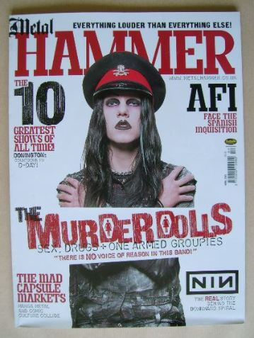 <!--2003-04-->Metal Hammer magazine - April 2003