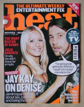 Heat magazine - Denise Van Outen and Jay Kay cover (15-21 May 1999 - Issue 15)