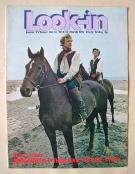 Look In magazine - Redgauntlet cover (27 March 1971)