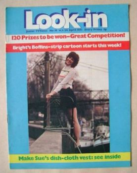<!--1971-04-24-->Look In magazine - Susan Stranks cover (24 April 1971)