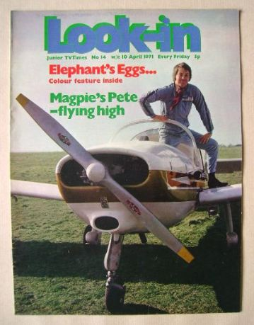<!--1971-04-10-->Look In magazine - Pete Brady cover (10 April 1971)
