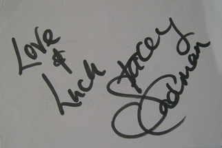 Stacey Cadman autograph