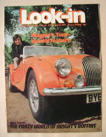 <!--1971-04-17-->Look In magazine - Tony Bastable cover (17 April 1971)
