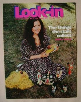 Look In magazine - Cheryl Burfield cover (3 April 1971)