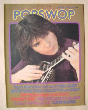<!--1973-01-13-->Popswop magazine - 13 January 1973 - David Cassidy cover
