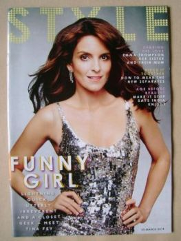 Style magazine - Tina Fey cover (23 March 2014)