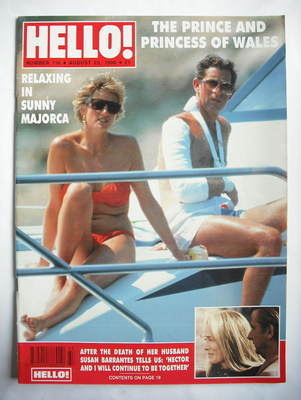 <!--1990-08-25-->Hello! magazine - Princess Diana and Prince Charles cover