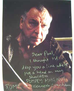Kenneth Cranham autograph