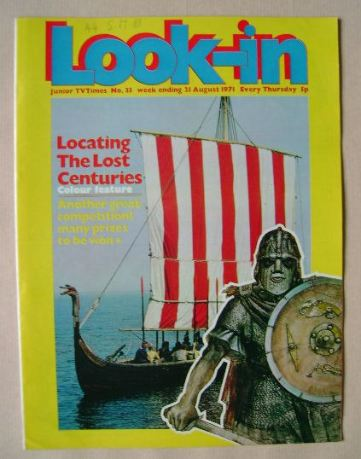<!--1971-08-21-->Look In magazine - Locating The Lost Centuries (21 August