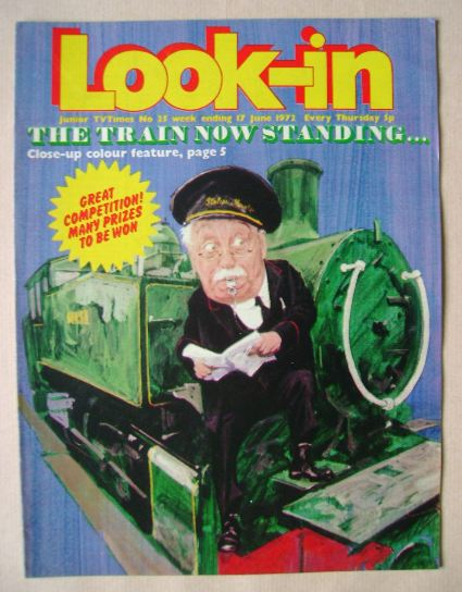 <!--1972-06-17-->Look In magazine - The Train Now Standing cover (17 June 1
