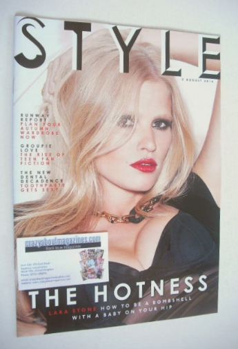 <!--2014-08-03-->Style magazine - Lara Stone cover (3 August 2014)