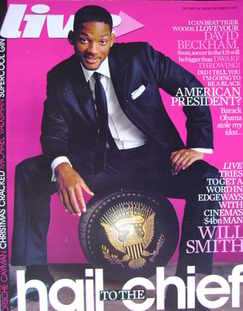 Live magazine - Will Smith cover (9 December 2007)