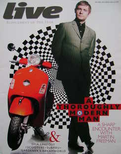 <!--2008-05-04-->Live magazine - Martin Freeman cover (4 May 2008)