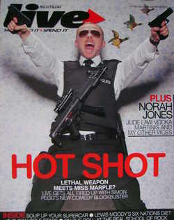 <!--2007-01-28-->Live magazine - Simon Pegg cover (28 January 2007)