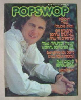 Popswop magazine - 3 February 1973