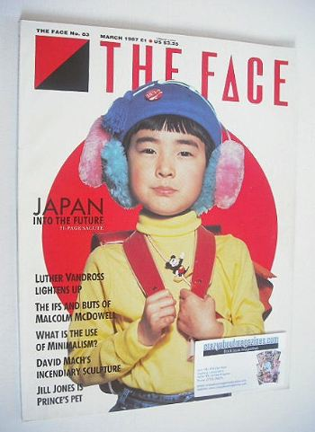 <!--1987-03-->The Face magazine - Japan Into The Future cover (March 1987 -
