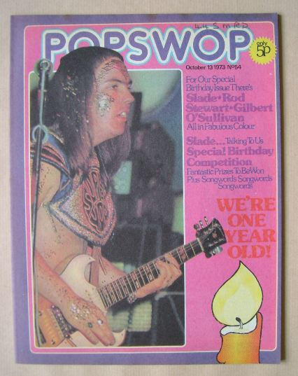 <!--1973-10-13-->Popswop magazine - 13 October 1973