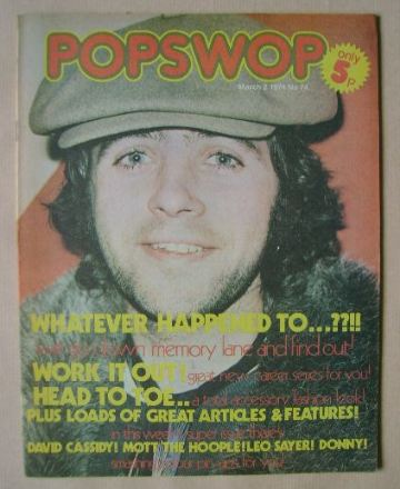 <!--1974-03-02-->Popswop magazine - 2 March 1974