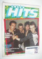 <!--1979-12-13-->Smash Hits magazine - The Clash cover (13-26 December 1979)