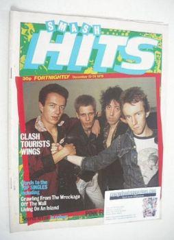 Smash Hits magazine - The Clash cover (13-26 December 1979)