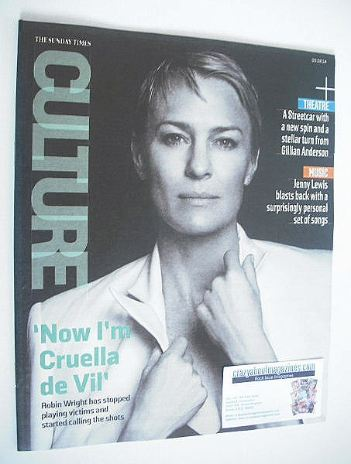 <!--2014-08-03-->Culture magazine - Robin Wright cover (3 August 2014)