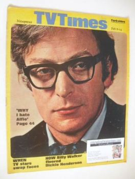 TV Times magazine - Michael Caine cover (8-14 February 1969)