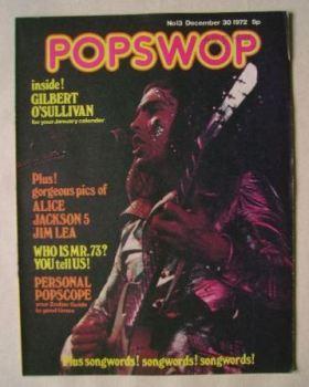 Popswop magazine - 30 December 1972