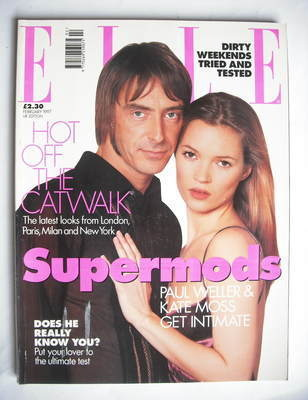 <!--1997-02-->British Elle magazine - February 1997 - Kate Moss and Paul We