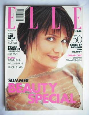 <!--1994-05-->British Elle magazine - May 1994 - Helena Christensen cover