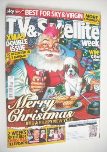 <!--2014-12-20-->TV&Satellite Week magazine - Christmas Issue (20 December