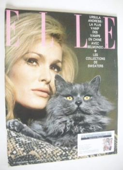 French Elle magazine - 4 February 1965 - Ursula Andress cover