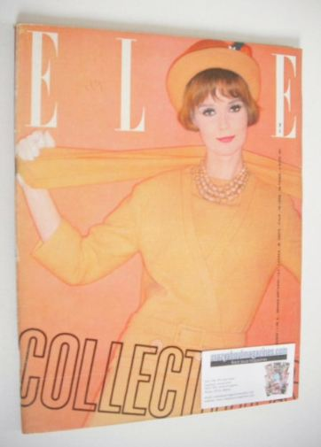 <!--1961-03-03-->French Elle magazine - 3 March 1961